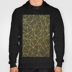 Ab Lines Gold and Navy Hoody
