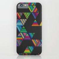 Rainbow Night Rain iPhone 6 Slim Case