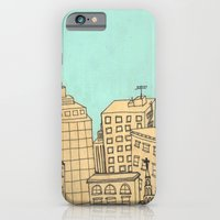iPhone & iPod Case featuring City scape by Pips Ebersole