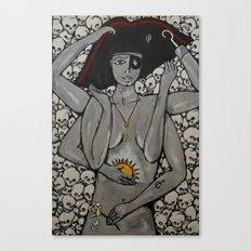 Kali Pirate Canvas Print