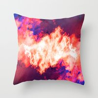 SleepyHead ~ Analog Zine Throw Pillow