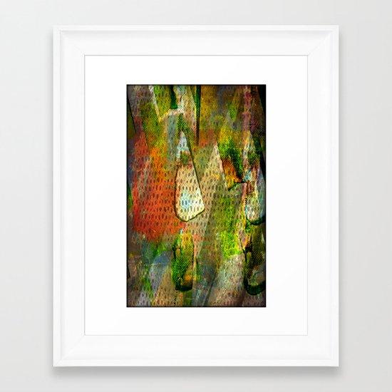 Prismas Framed Art Print