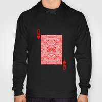 Queen Of Hearts Hoody