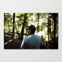 Rückenfigur #1 Canvas Print