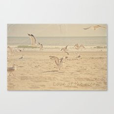 Love of the Ocean Canvas Print