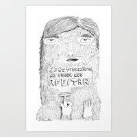 shave it! Art Print