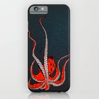 iPhone & iPod Case featuring Kiss Of The Octopus by Chris Bliss