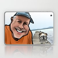 Bulldog On The Dock Laptop & iPad Skin