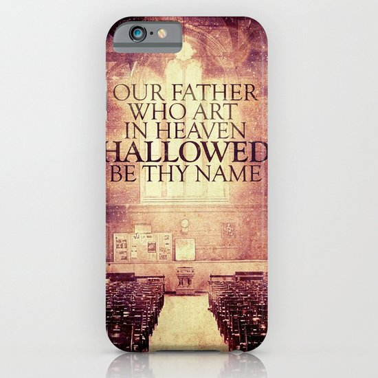 Hallowed be Thy Name iPhone & iPod Case