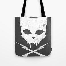 Stunt Kitty Tote Bag