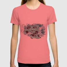 Tag Business Womens Fitted Tee Pomegranate SMALL