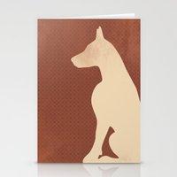 Doberman Dog Stationery Cards