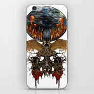 Planet Lives The Fear iPhone & iPod Skin