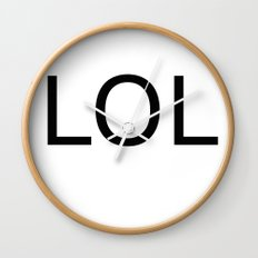 lol Wall Clock