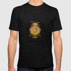 Steampunk Submarine Mens Fitted Tee Tri-Black SMALL