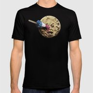 Summer Voyage Mens Fitted Tee Black SMALL