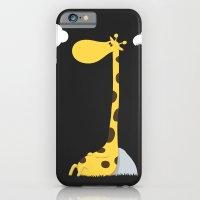 The greedy giraffe iPhone 6 Slim Case