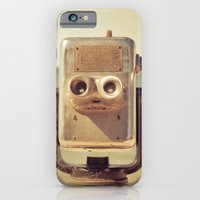 robot iPhone & iPod Cases featuring Robot Head by Olivia Joy StClaire
