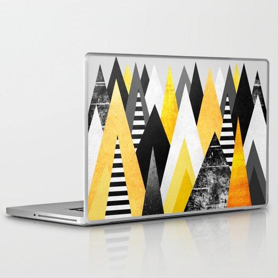 Yellow Peaks Laptop & iPad Skin