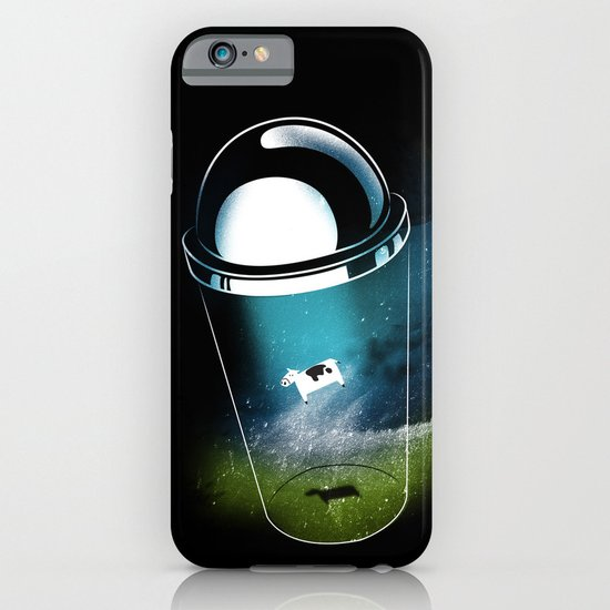 Encounters of the Dairy Kind iPhone & iPod Case