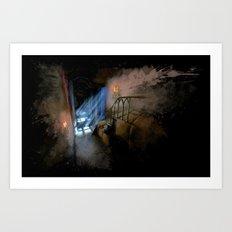 Castlevania: Vampire Variations- Hall Art Print