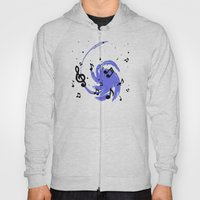 Musical Blue Hoody
