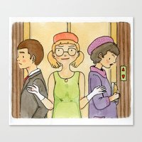 Well, it's been a long day (from How to Succeed in Business Without Really Trying) Canvas Print