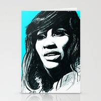 Tina Turner Stationery Cards