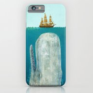 iPhone & iPod Case featuring The Whale  by Terry Fan