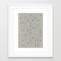 Stupid Pois Framed Art Print