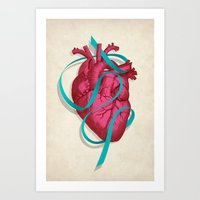 By heart Art Print