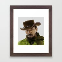 Django Unchained Framed Art Print