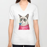 Sailor Cat II Unisex V-Neck