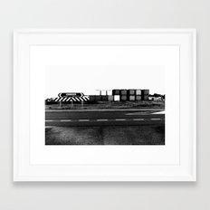 bruce highway. Framed Art Print