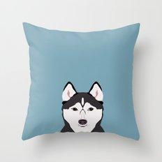 Shiloh - Husky Siberian … Throw Pillow
