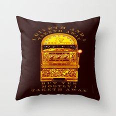 I Giveth - 056 Throw Pillow