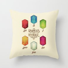 Legend of Zelda - Tingle's The Rupees of Hyrule Kingdom Throw Pillow