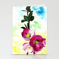 Blossom Spray Stationery Cards