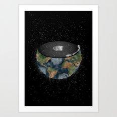 It makes the world go round. Art Print