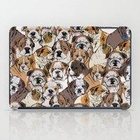 Social English Bulldog iPad Case