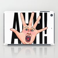 Five Fingered Face iPad Case