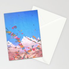 At the top of the world Stationery Cards