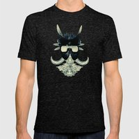 A Black Angel From Aksou… Mens Fitted Tee Tri-Black SMALL