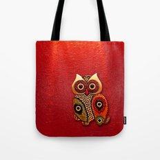Cute Retro Beads Owl App… Tote Bag