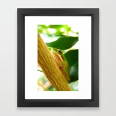 friend. Framed Art Print