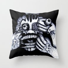 My Personal Demons Throw Pillow