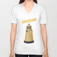 Dalek Doctor Who Unisex V-Neck