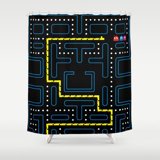 Hungry & Lost Shower Curtain