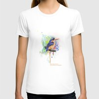Nature Does Not Hurry Womens Fitted Tee White SMALL