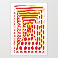 Furoshiki Art Print